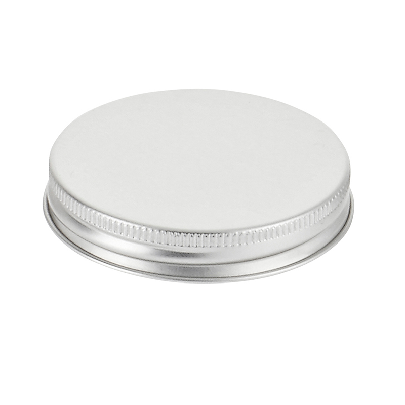 Silver aluminium cap by Richmond Containers, infinitely recyclable aluminium closure R3/58