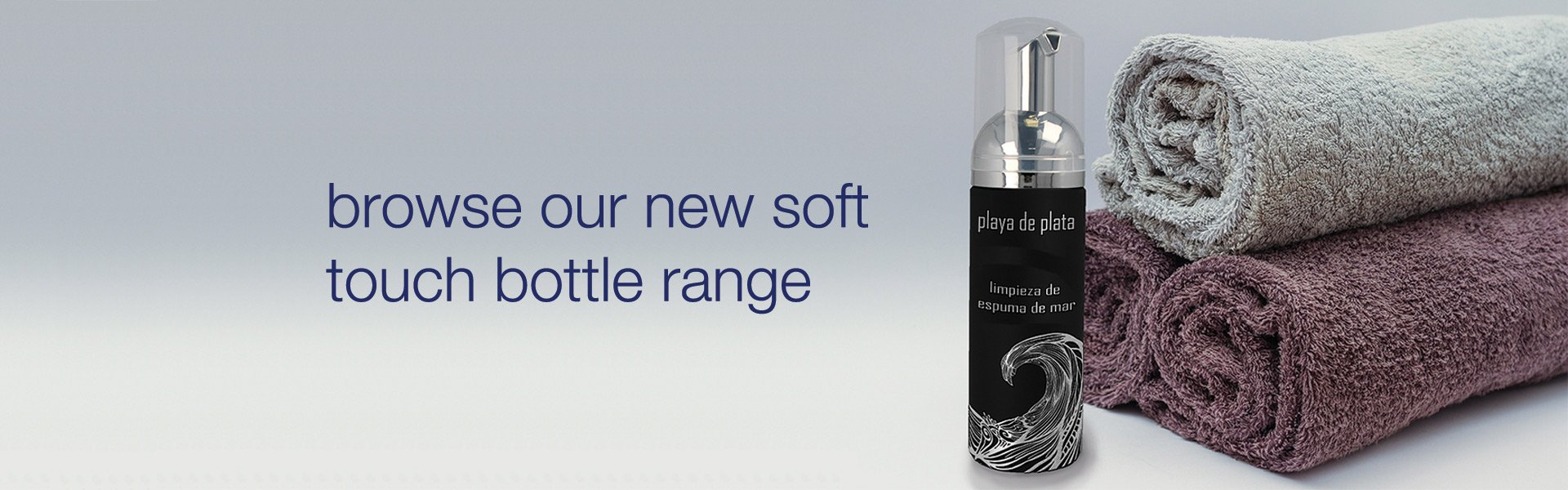 Soft touch bottle